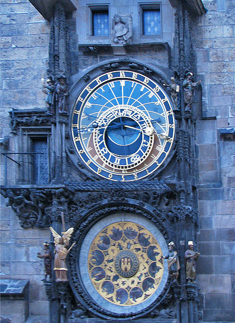 Prague Old Town clock
