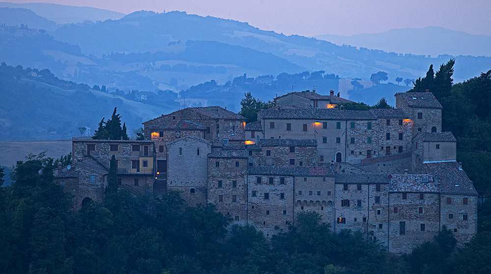 from near Serra san Quirico